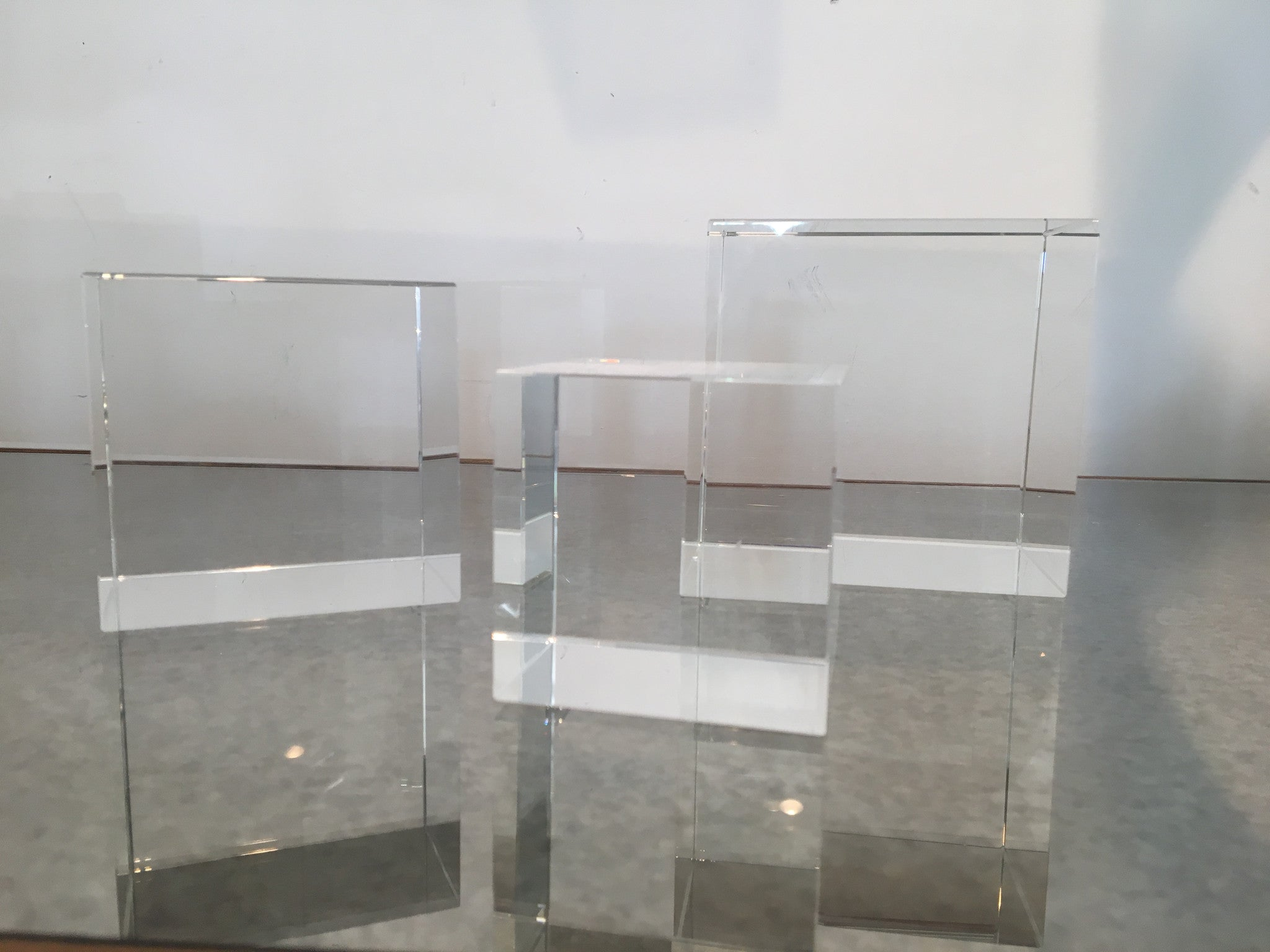 Crystal Glass Cubes