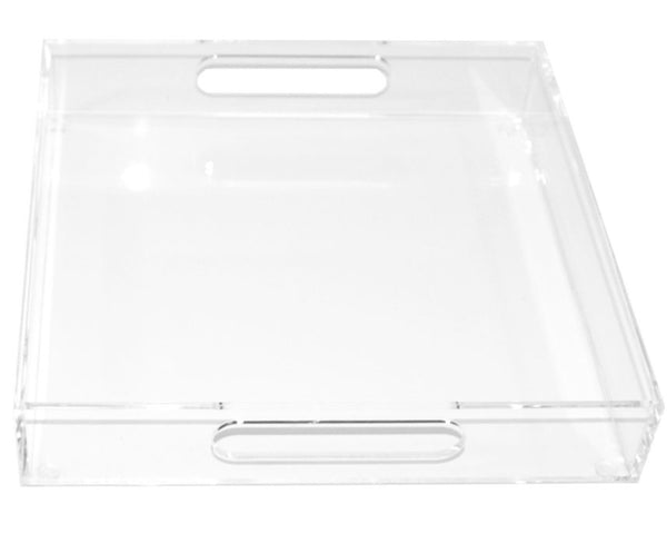 Clear Lucite Tray