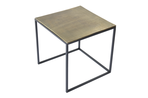 Iron and Aluminum End Tables