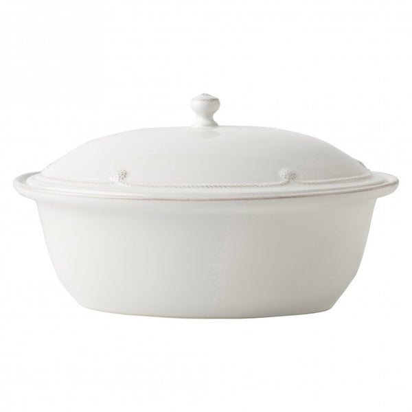 Juliska Berry Na Thread Oval Covered Casserole