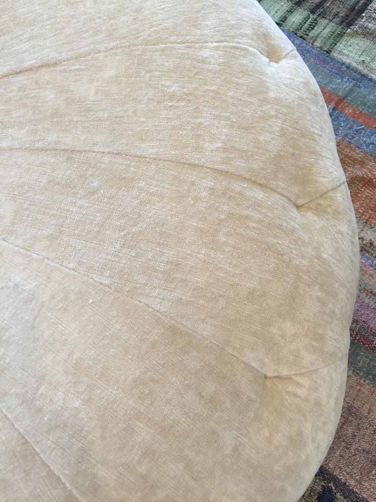Large Natural Pouf