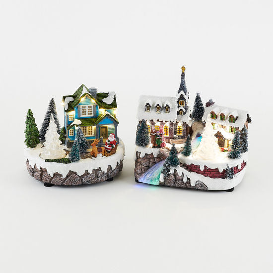 Animated House/Town Scene