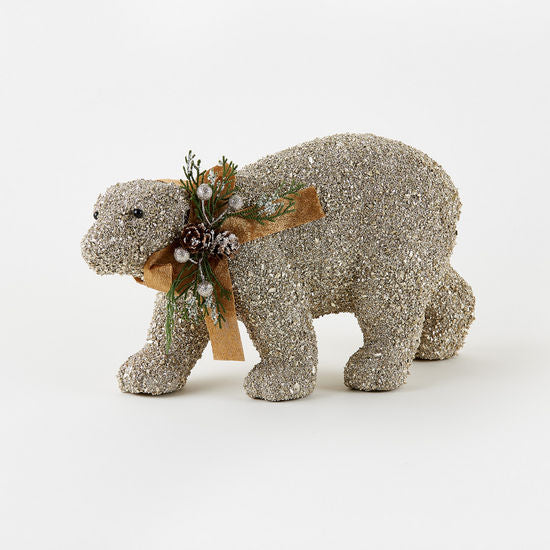 Encrusted Polar Bear