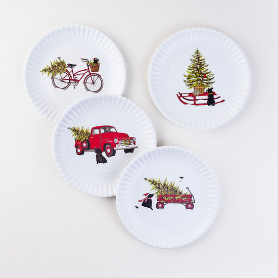"Christmas ""Paper Plates"""