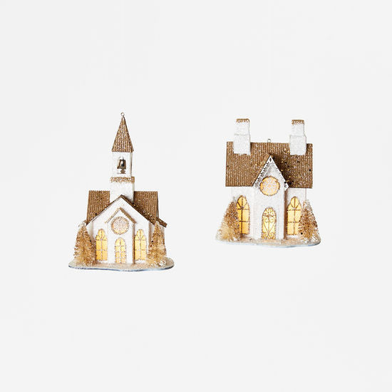 Church/House Ornament