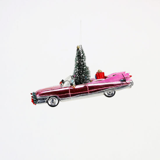Pink Caddy Ornament