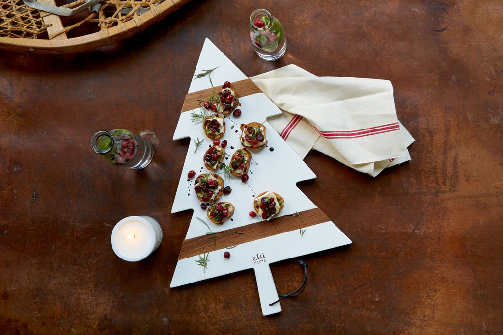 Mod White Tree Charcuterie Board