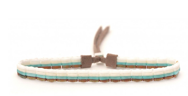 Taos Handwoven Beaded Bracelet
