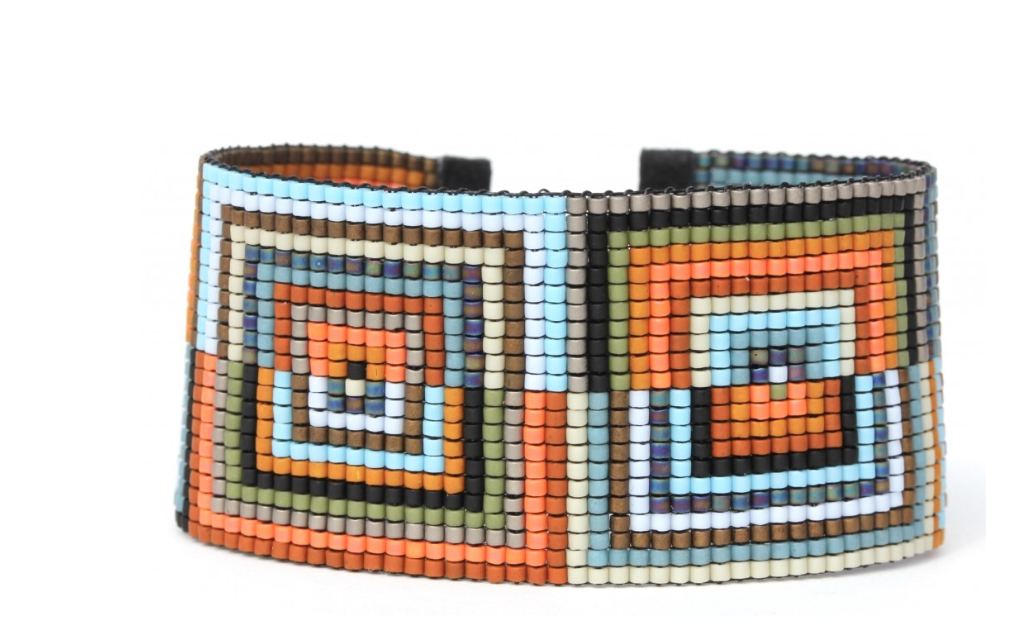Rectangle Beaded Bracelet