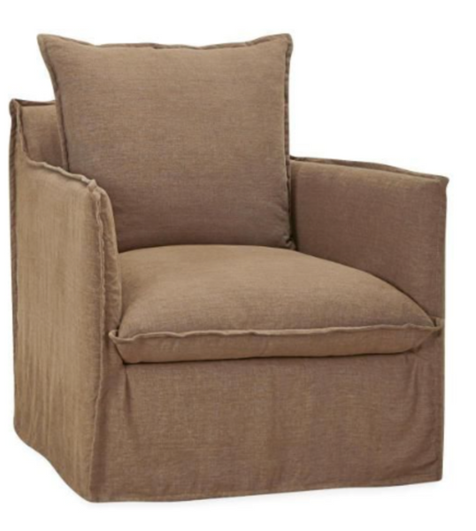 C1297-01SW Slipcover Swivel Chair