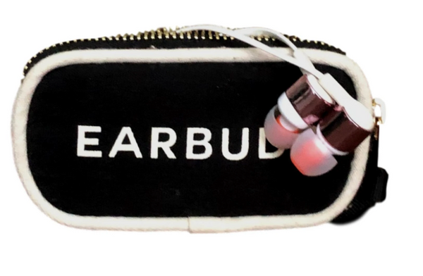 Earbud Case Black