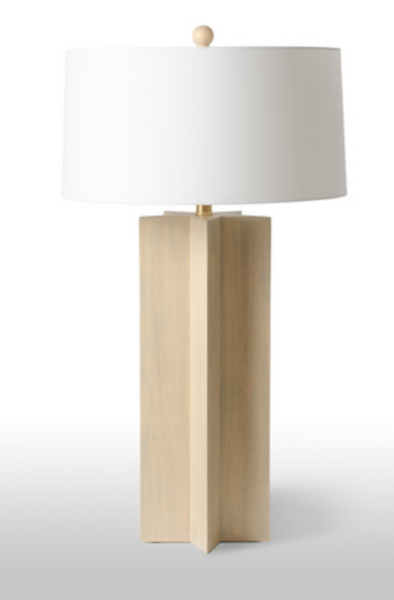 Star Wooden Lamp - Tall
