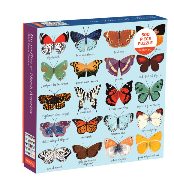 Butterflies North America Puzzle