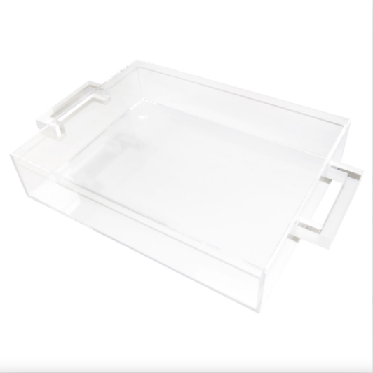 Clear Handle Tray