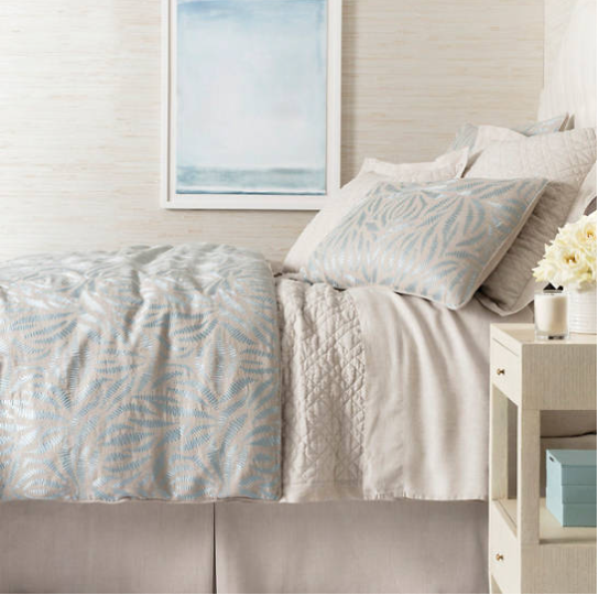 Fossil Embroidered Bedding