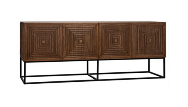 Lanon Sideboard W/Metal Base