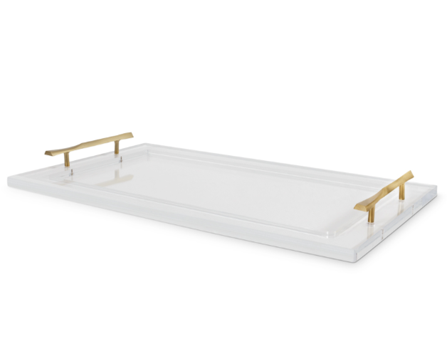 Gold Handle Tray