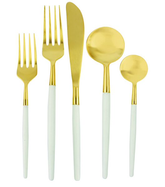 Gold Flatware Set of 5