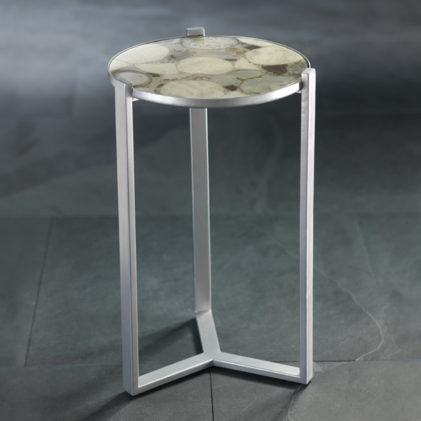 Nova Cocktail Table with Agate Top