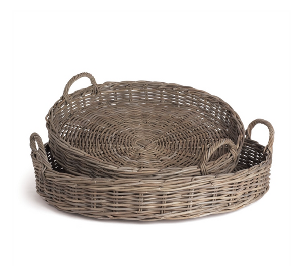 Normandy Low Round Baskets