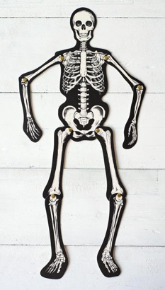 Articulated Skeleton Decorative Accent