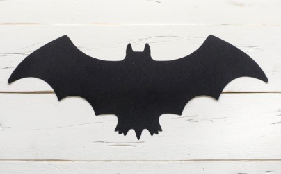 Die Cut Bat Placemat