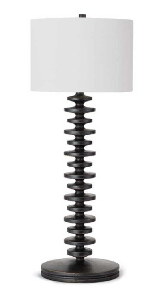 Fishbone Buffet Table Lamp