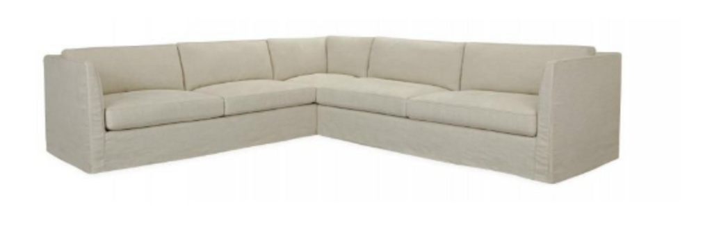C3941-Series Slipcovered Sectional Series