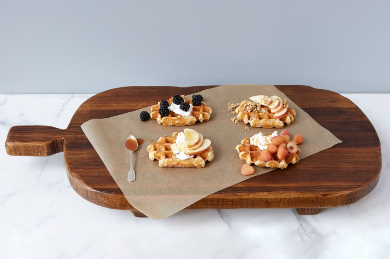 Rectangle Footed Serving Board