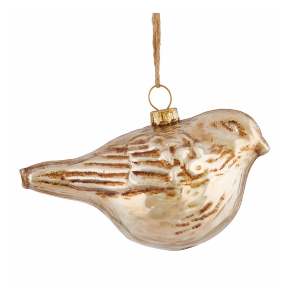 Sierra Lodge Bird Ornament