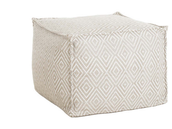 Diamond Indoor/ Outdoor Pouf