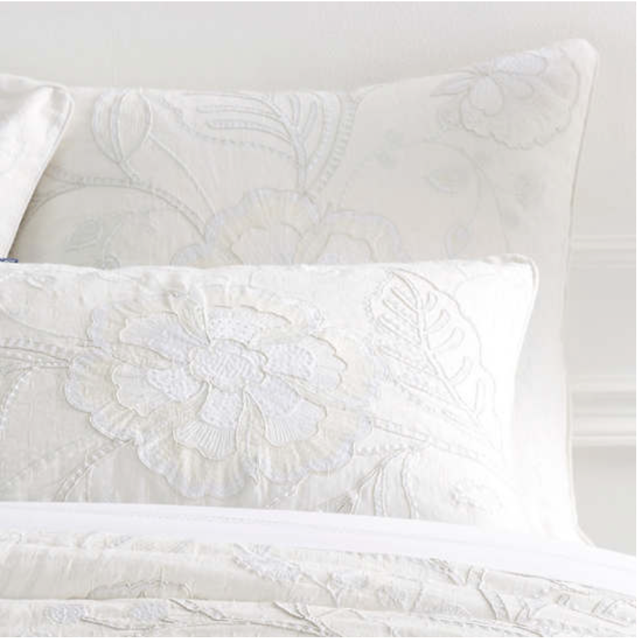 Addison Embroidered Coverlet