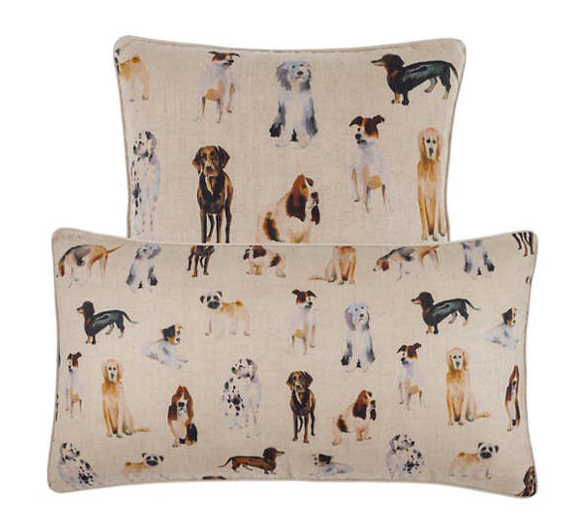 Woof Linen Pillow