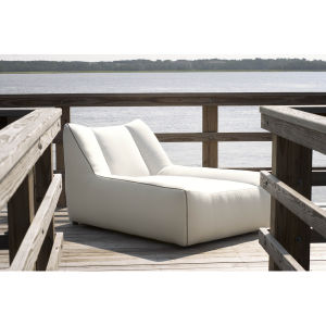 Outdoor Armless Chaise