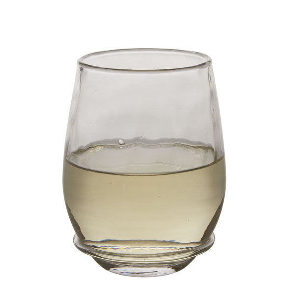 Juliska Stemless White Wine Glass Carine