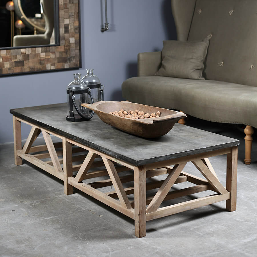 Blue Stone Coffee Table