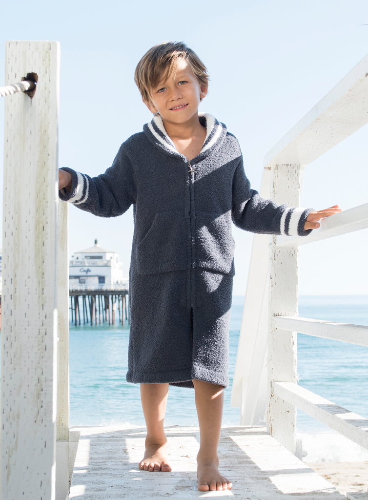 Kids Zip-up Starfish Robe