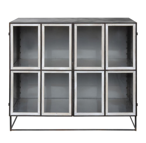 Metal & Glass Cabinet