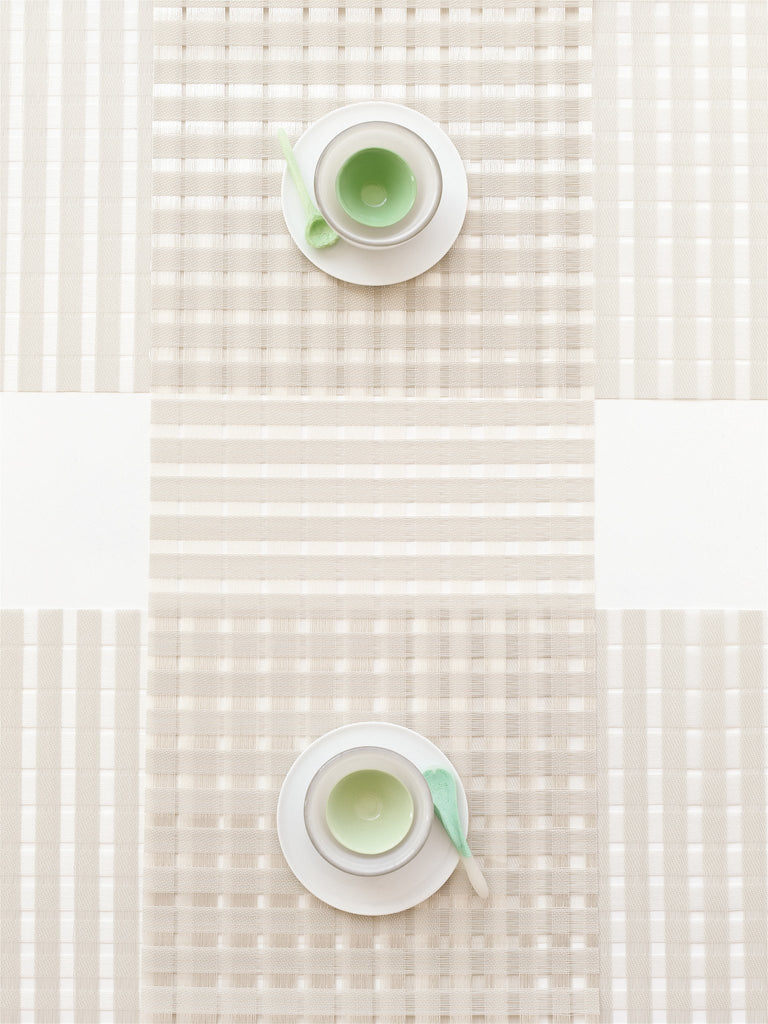 Chilewich Satin Glass Placemat & Runner