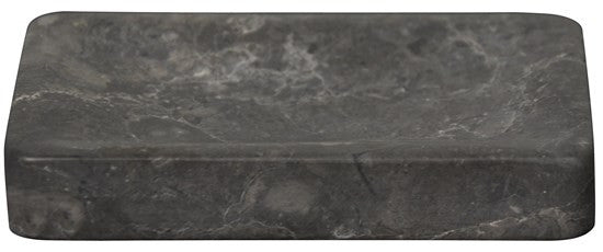 Black Marble Rectangle Soap Dish