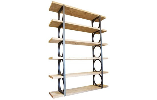 Reclaimed Lumber Shelving