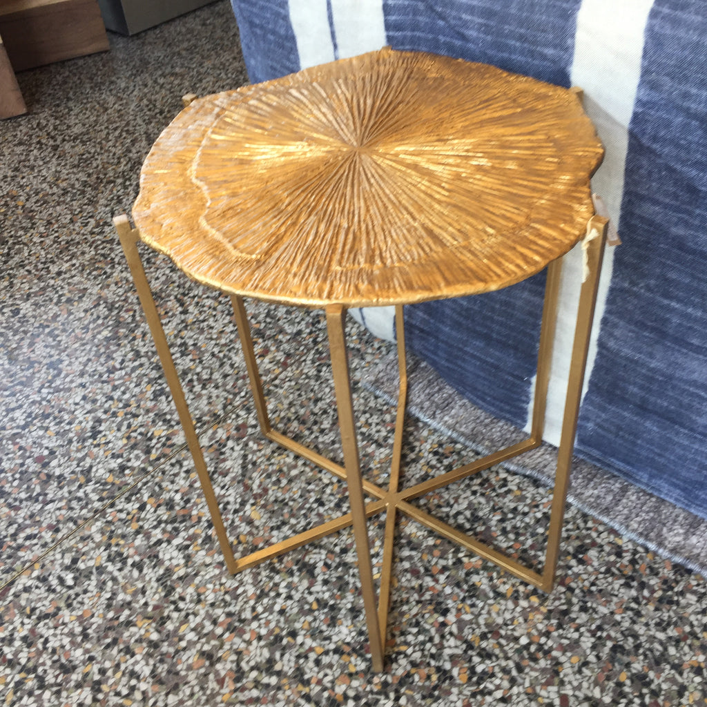 Pyrite Side Table