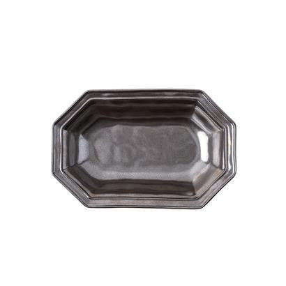 "Juliska Pewter 10"" Octagonal Bowl"