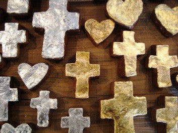 Handmade Crosses and Hearts