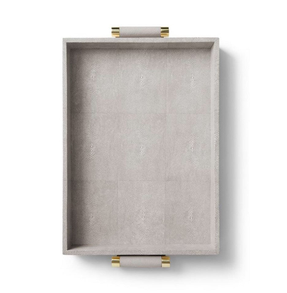 AERIN Classic Shagreen Serving Tray