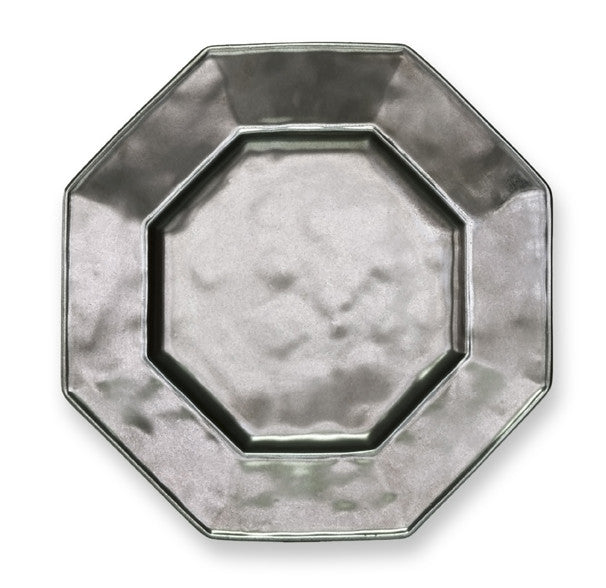 Juliska Pewter Octagonal Salad