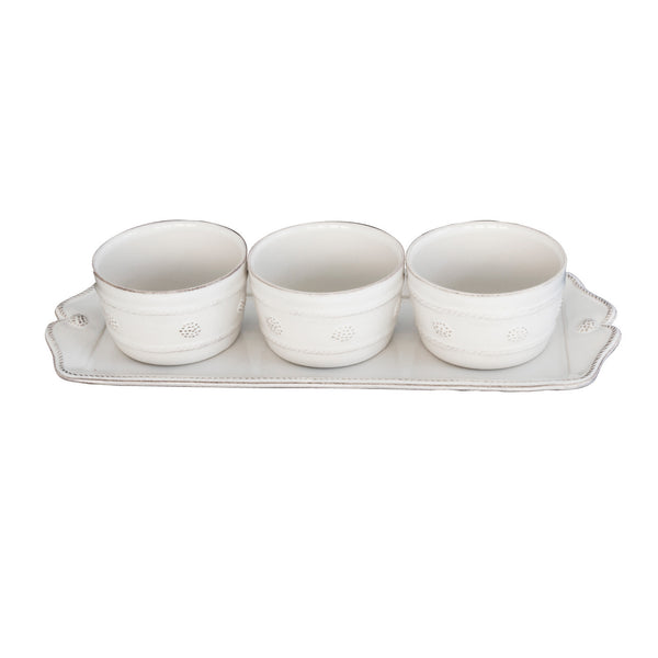 Juliska 4 Piece Hostess Set