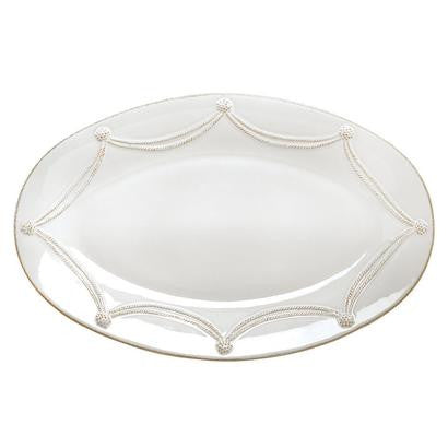 Juliska Berry and Thread Large Oval Platter