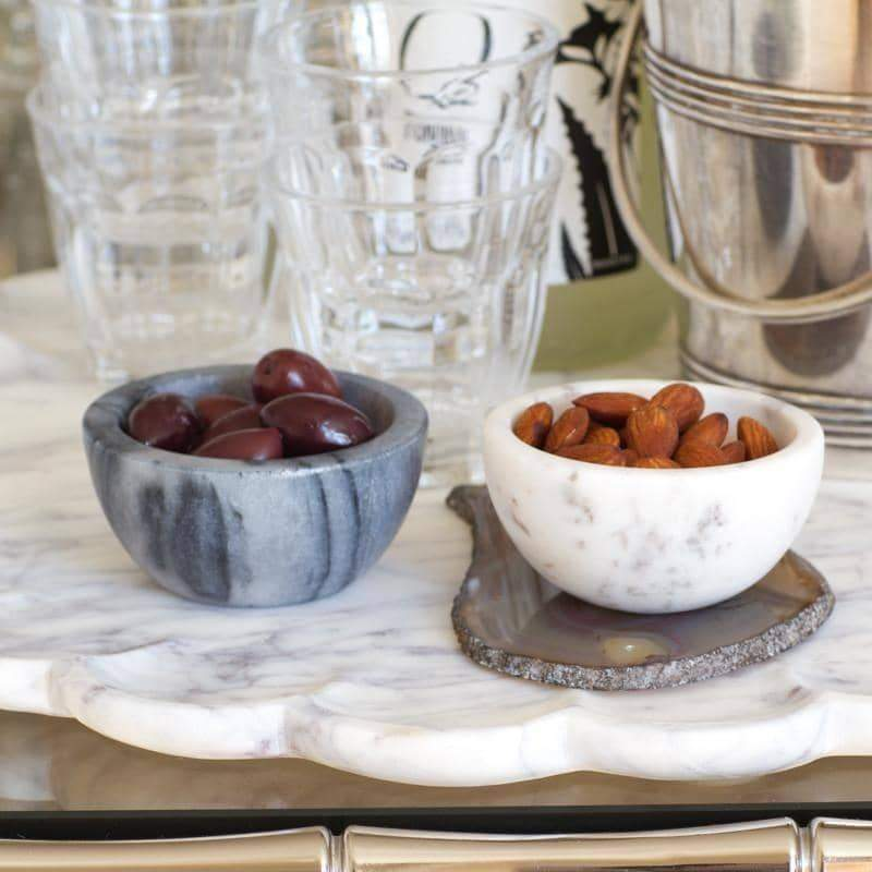 Marble Salt & Pepper Cellars