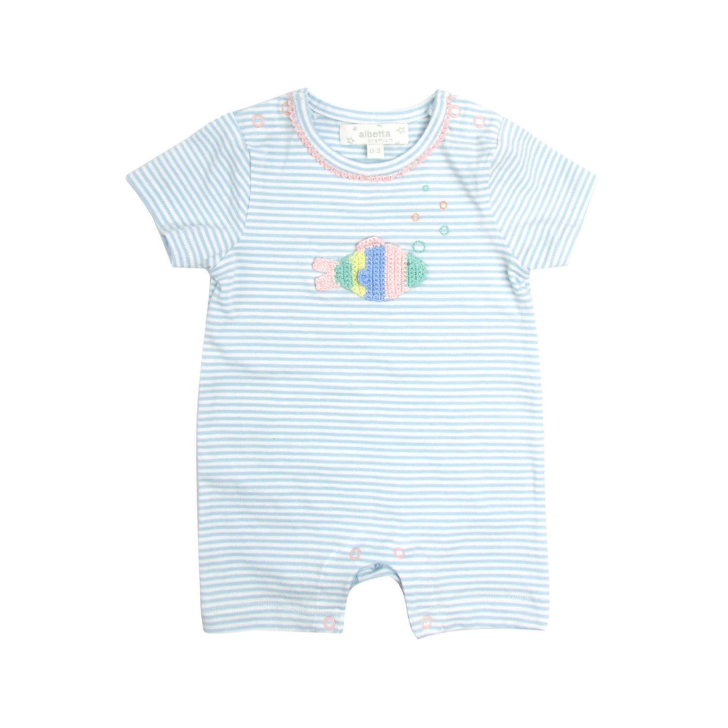 Rainbow Fish Baby Outfit